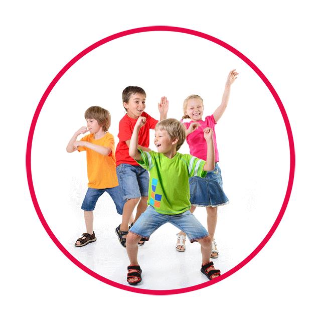 Sokiu Pamokos Kaune - Zumba Kids